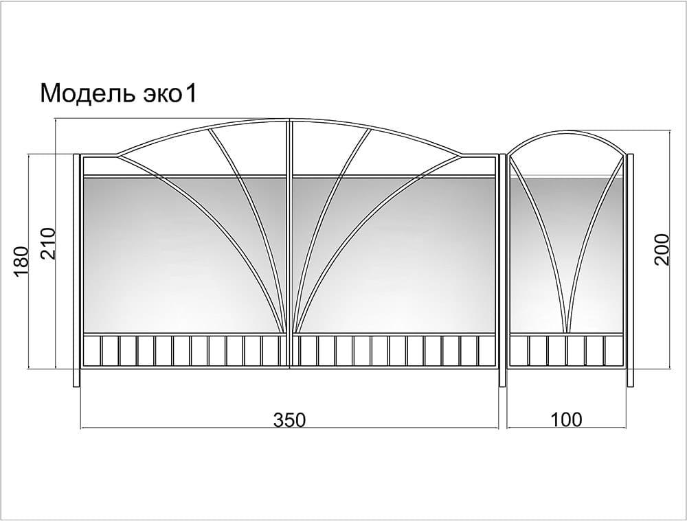Рассчитать распашные ворота цена площадка под привод откатных ворот