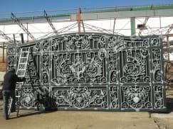 готовые к покраске ворота